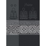 Garnier-Thiebaut Poivre Noir Kitchen Towel