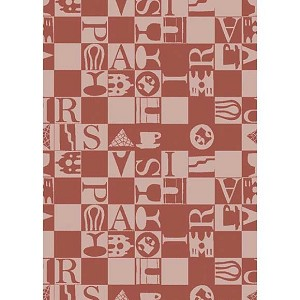 Bistrot Rouge Kitchen TowelS - 100% Cotton
