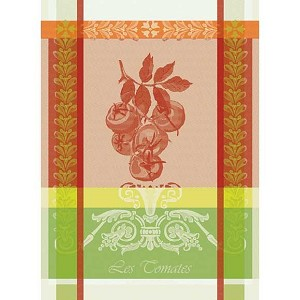 Les Tomatos Rouge Kitchen Towel - 100% Cotton