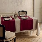 MILLE DATCHA Tablecloth, 100% LINEN