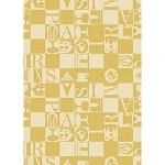 BISTROT Jaune KITCHEN TOWELS - 100% cotton