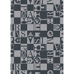 BISTROT Noir KITCHEN TOWELS - 100% cotton