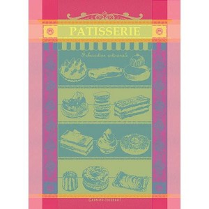 PATISSERIE Tutti Frutti KITCHEN TOWEL - 100% cotton