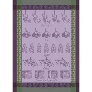 PRODUITS PROVENCAUX Olivette KITCHEN TOWEL - 100% cotton
