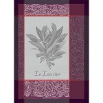 LAURIER Bordeaux KITCHEN TOWEL - 100% cotton