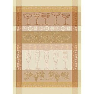 REIMS Rose KITCHEN TOWEL - 100% cotton