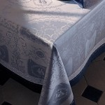 "BAGATELLE FLANELLE Tablecloth"", GREEN SWEET"