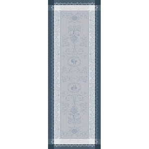 "BAGATELLE FLANELLE Runner 20""X58"", GREEN SWEET"