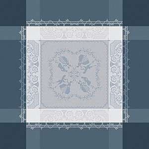 "BAGATELLE FLANELLE Napkin 21""X21"", 100% COTTON set/4"