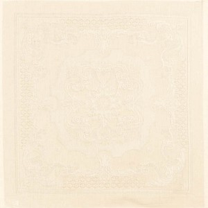 "BEAUREGARD IVORY Napkin 22""X22"", 100% COTTON set/4"