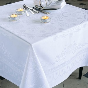 ELOISE DIAMANT Tablecloth, Green Sweet