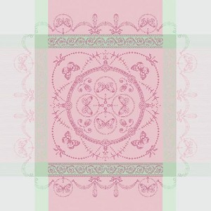 "EUGENIE CANDY Napkin 21""X21"", 100% COTTON set/4"