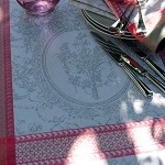 FLANERIE CORAIL Tablecloth