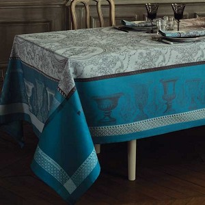 FLANERIE GIVRE Tablecloth , GREEN SWEET