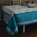 FLANERIE GIVRE Tablecloth and Accessories , GREEN SWEET