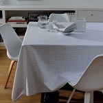 ILLUSION GREY Tablecloth
