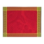 "ISAPHIRE RUBIS Placemat 22""x16"", GREEN SWEET set/4"