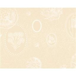"MILLE ECLATS CHOCOLAT BLANC Placemat 16""X20"", COATED set/4"