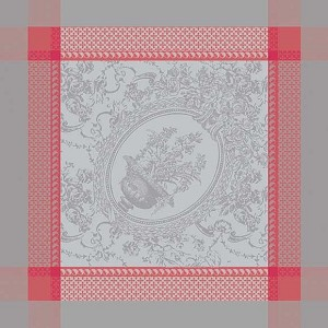 FLANERIE CORAIL Napkin 22 X 22 Set of 4
