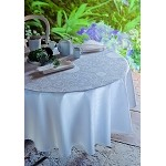 APPOLINE WHITE Tablecloth and Accessories , GREEN SWEET