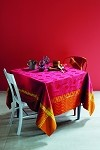 CINETIK FEU Tablecloth , GREEN SWEET