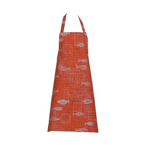 MILLE MICA VERMILLON Coated Apron