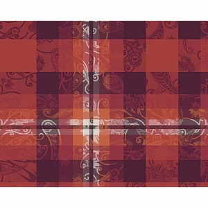 "MILLE PANACHE ARA Placemat 20""x16"", COATED"