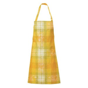 MILLE PANACHE CANARY COATED APRON