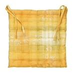 Mille Panache Canary Coated cushion set/2