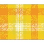 "MILLE PANACHE CANARY Placemat 16""X20"", COATED"