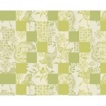 "MILLE BIRDS GARDEN Placemat 16""X20"", COATED SET/4"
