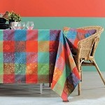 Mille Couleurs Epicea Tablecloths, 100% Cotton