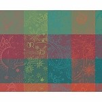 "MILLE COULEURS EPICEA Placemat 20""x16"", COATED set/4"