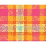 "MILLE PANACHE PARADISE Placemat 16""X20"", COATED"
