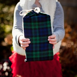 Plaid Daddy Gift Packaging