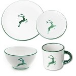 Gmundner Deer (Stag) Coupe Place Setting