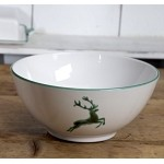 Stag Serving Bowl 9""