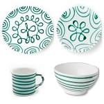 Dizzy (Vertigo) Green Coupe Place Setting