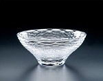 "Heritage Glass Crinklewood 9"" Flared Bowl"