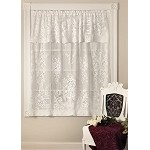 Downton Abbey Aristocrat Valence Panel 60 x 18, White