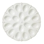 Berry and Thread Whitewash Deviled Egg Platter