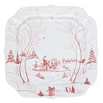 Country Estate Ruby Cookie Tray- Naughty and Nice