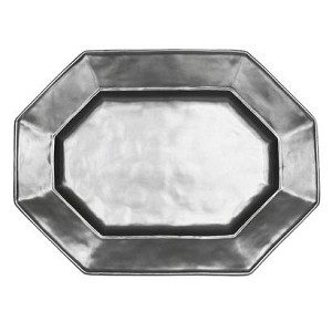 Pewter Medium Octagonal Platter