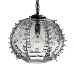 Harriet Globe Pendant Clear