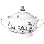 Country Estate Lidded Sugar Bowl Flint