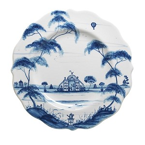 Country Estate Dessert/Salad Plate Conservatory Delft Blue