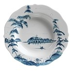 Country Estate Pasta/Soup Bowl Boathouse Delft Blue