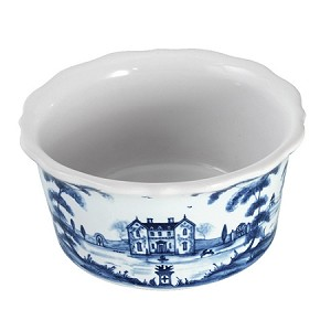Country Estate Ramekin Tea Party Tent Delft Blue