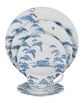 Country Estate 5pc Setting Delft Blue