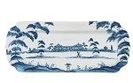 Country Estate Hostess Tray Delft Blue